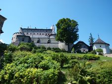 Free Medieval Castle  Hohenwerfen Royalty Free Stock Photography - 16503777