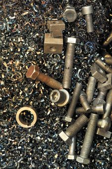Free Steel Screws Stock Photos - 16504513