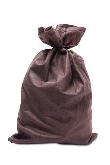 Free Fabric Bag, Full, Tied Stock Photos - 16504903
