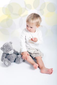 Free Baby Girl Child Stock Photography - 16505012
