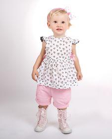 Free Baby Girl Child Royalty Free Stock Image - 16505216