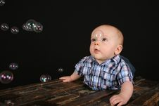Free Cute Baby Boy Royalty Free Stock Images - 16505279
