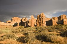 Free Arches National Park Royalty Free Stock Images - 16505679