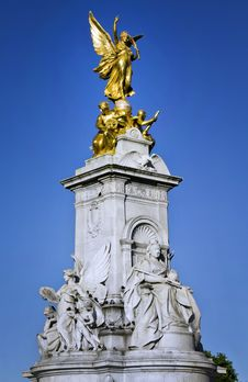 Victoria Memorial Royalty Free Stock Photography