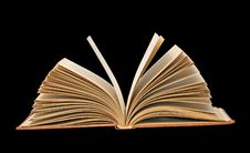 Open Book Isolated On Background Royalty Free Stock Photos