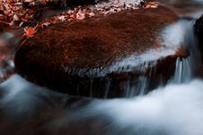 Free Autumn Waterfall Royalty Free Stock Photos - 16508348