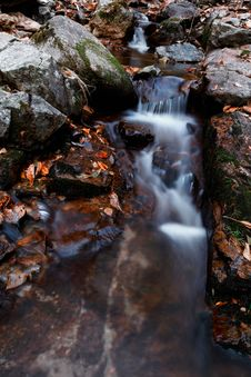 Free Autumn Waterfall Royalty Free Stock Photography - 16508367