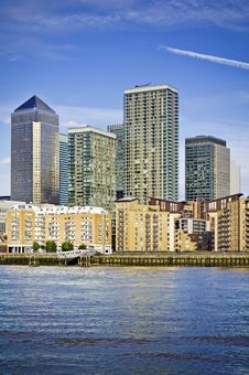 Free Canary Wharf Stock Photos - 16508403