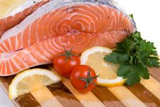 Free Raw Salmon Royalty Free Stock Images - 16508529