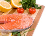 Free Raw Salmon Royalty Free Stock Images - 16508539