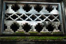 Free China S Old Stone Windows Royalty Free Stock Photo - 16508555