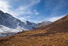 Free Sayan Mountains Alpine Grasslands Royalty Free Stock Photography - 16508977