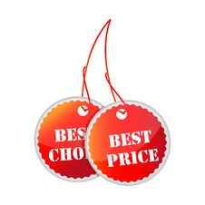 Tags For Best Price And Best Choice Stock Photos