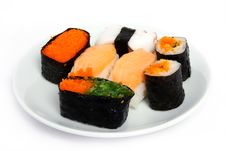 Free Japanese Sushi Traditional Food Royalty Free Stock Images - 16509729