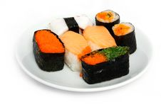 Free Japanese Sushi Traditional Food Stock Photo - 16509790