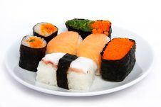 Free Japanese Sushi Traditional Food Royalty Free Stock Photos - 16509858
