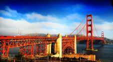 Free Gold Gate Bridge Stock Images - 16509934