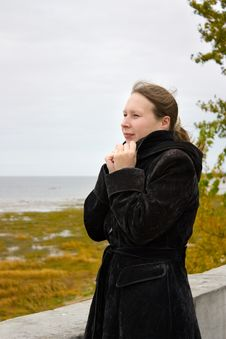 Free Woman And Autumn Stock Photo - 16509990