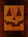 Free Grunge Pumpkin Face Stock Photography - 16515512