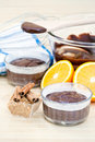 Free Chocolate Cake And Ingredients Royalty Free Stock Photos - 16517008