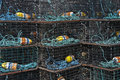 Free Lobster Traps. Royalty Free Stock Image - 16518626