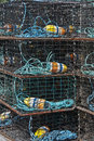 Free Lobster Traps. Royalty Free Stock Photos - 16518638
