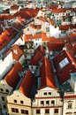Free Prague Roofs Stock Photography - 16519052