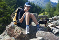 Free Boy In The Mountains Stock Image - 16519401