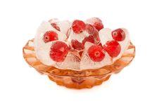 Free Cranberries In Ice Stock Photos - 16510023