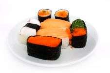 Free Japanese Sushi Traditional Food Stock Image - 16510041