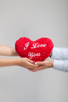 Free Heart Holding Together Royalty Free Stock Photo - 16510165