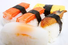 Free Japanese Sushi Traditional Food Stock Images - 16510194