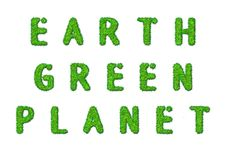 Earth Green Planet Stock Image