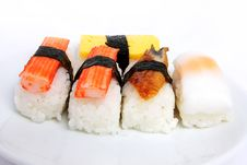 Free Japanese Sushi Traditional Food Royalty Free Stock Image - 16510376