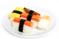 Free Japanese Sushi Traditional Food Stock Image - 16510491