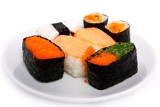 Free Japanese Sushi Traditional Food Stock Images - 16510604