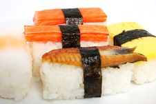 Free Japanese Sushi Traditional Food Stock Photography - 16510882