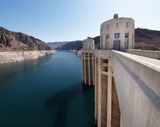 Free Hoover Dam Turrets Royalty Free Stock Photos - 16511178