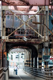 Queensborough Bridge, New York City, USA Stock Photos