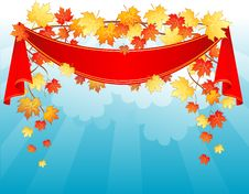 Free Autumn Leafs Back Royalty Free Stock Image - 16511726