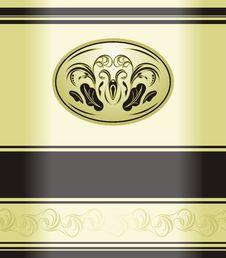 Decorative Retro Background. Wrapping Stock Image