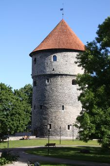 Tower Of City Wall - Royalty Free Stock Image