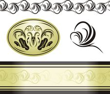 Free Decorative Retro Elements For Decor Stock Photography - 16512752
