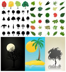 Free Assembly Of Trees3 Stock Photos - 16512893