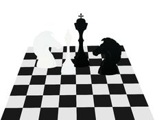 Free Chess On A Board Royalty Free Stock Photography - 16512957