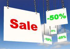 Free Sale Sky Royalty Free Stock Photo - 16513395