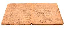 Free Retro Paper Handwritten Stock Photos - 16513463