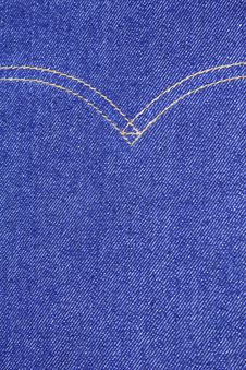 Free Blue Denim Texture Stock Photos - 16513473