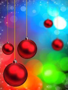 Free Christmas Background Royalty Free Stock Photos - 16513818