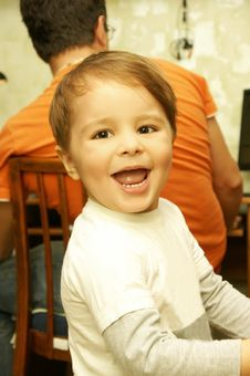 Free Joyful Boy Stock Photo - 16513820